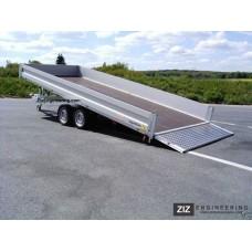 Prívesný vozík dvojnápravový do 3500kg