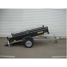 prívesný vozík do 900kg brzdený